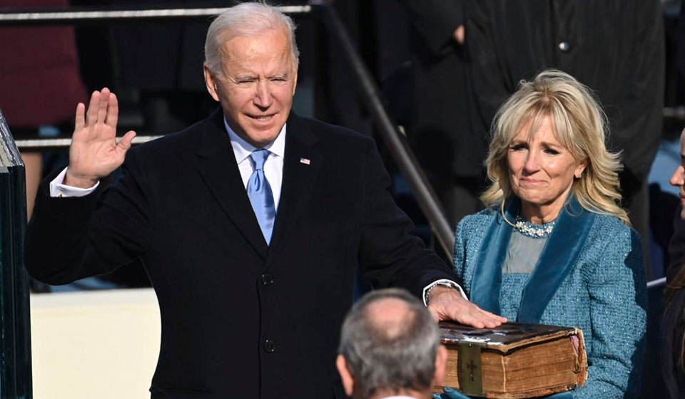 Labor welcomes Biden inauguration; Some unions echo his unity theme