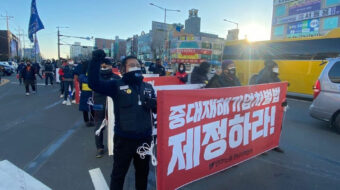 Korean workers say POSCO steel company guilty of manslaughter