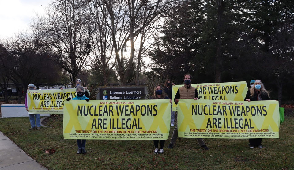 Treaty to ban all nuclear weapons is now international law