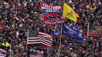 Union leaders join in blaming Trump for insurrection, coup attempt