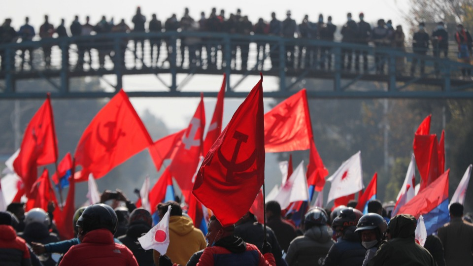 China attempts to mediate divisions within ruling Nepal Communist Party