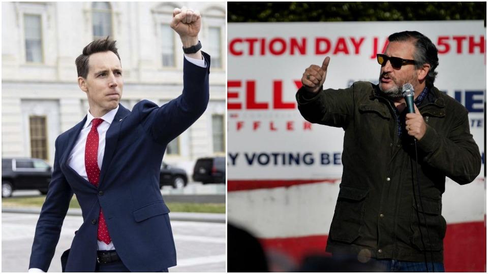 Legislation opens path to removing insurrectionist Senators Hawley and Cruz