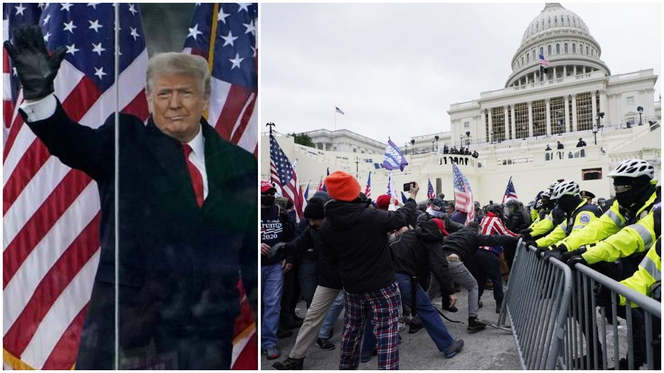 Trump's fascist insurrection in D.C. aims to destroy U.S. democracy