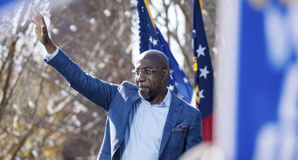 Candidates wrap up campaigns today in Georgia U.S. Senate runoffs