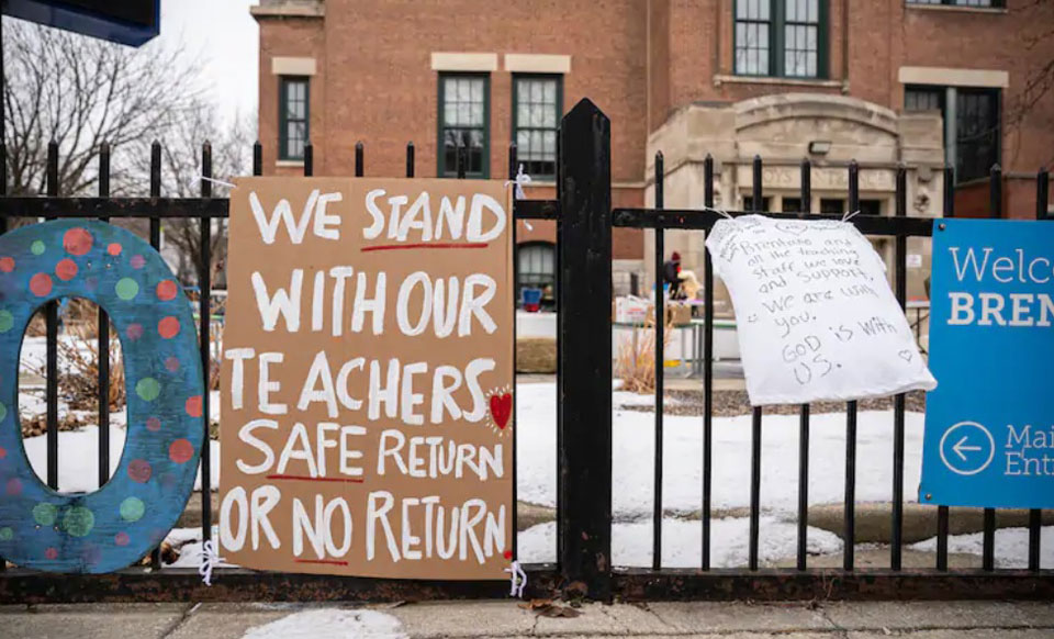 Some local teachers unions balk at unsafe school reopening plans