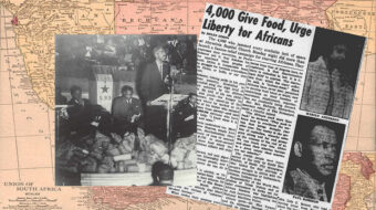 Harlem's 1946 fight against South African starvation foreshadowed anti-apartheid struggle