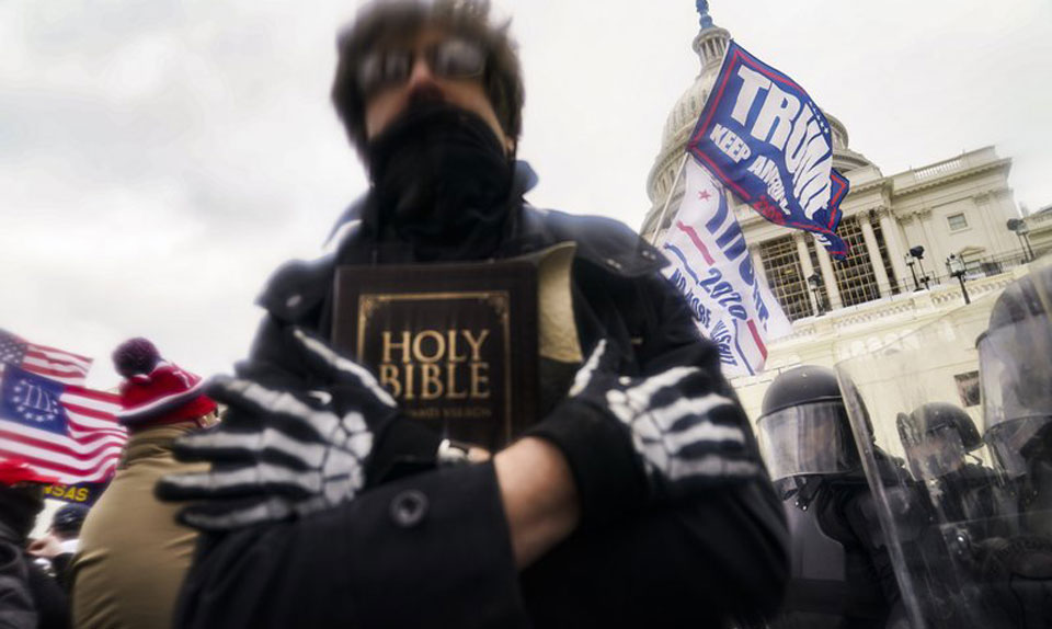 Christianity on display at Capitol riot sparks new debate