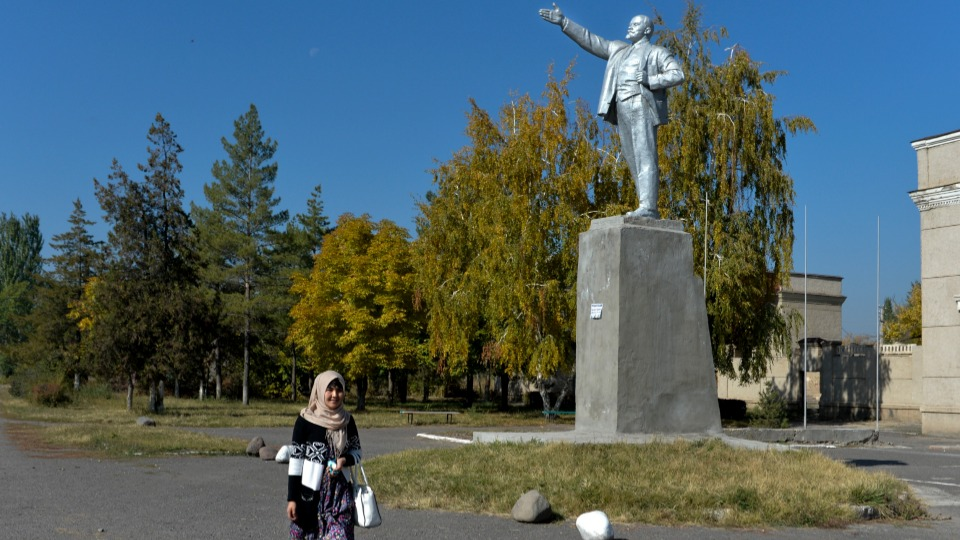 From former Soviet Kyrgyzstan comes new book on Lenin's 150th