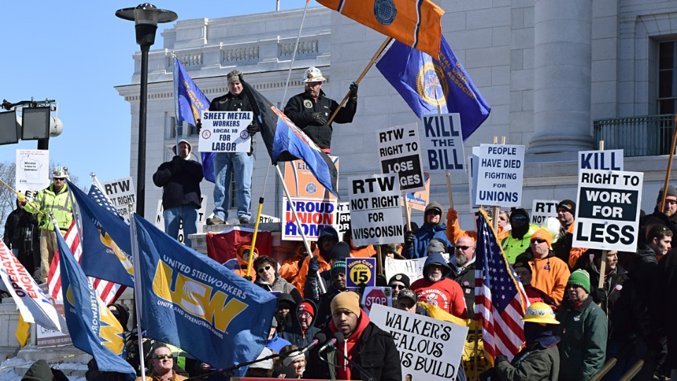 Corporations, lawmakers collude in new multi-state 'right to work' offensive