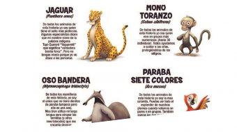 Serie de cómics promueve amor por animales de la Amazonia