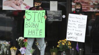 Anger mounts as police cover for Atlanta murderer of Asian women