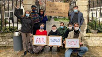 Columbia University forces TAs, RAs to strike, again