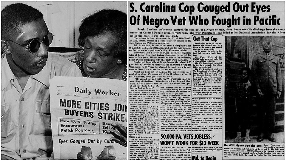 'Blinding of Isaac Woodard': 1946 racist police violence case gets fresh attention