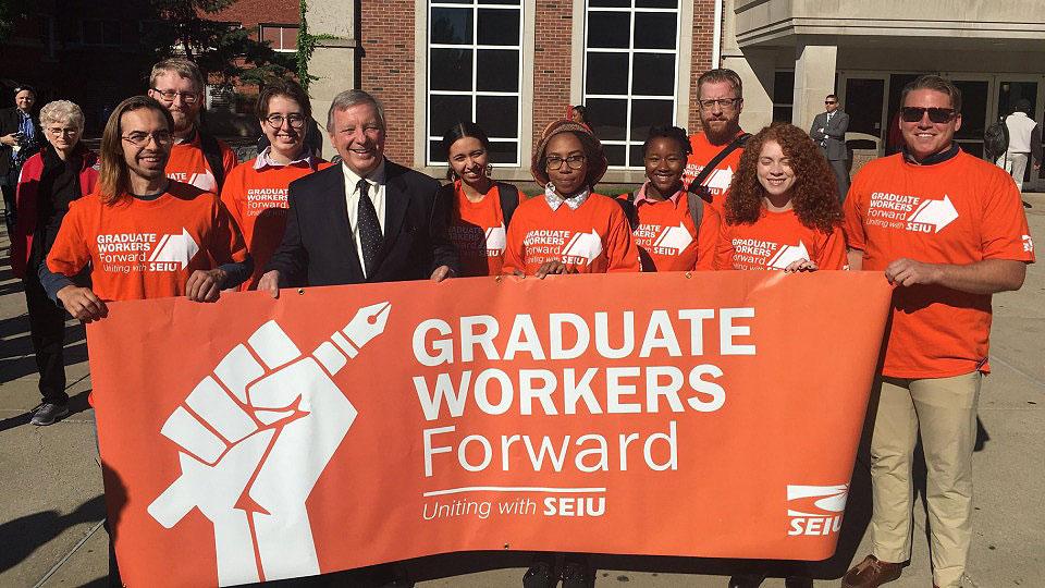 SEIU Graduate Workers Union in stalled talks at Illinois State University