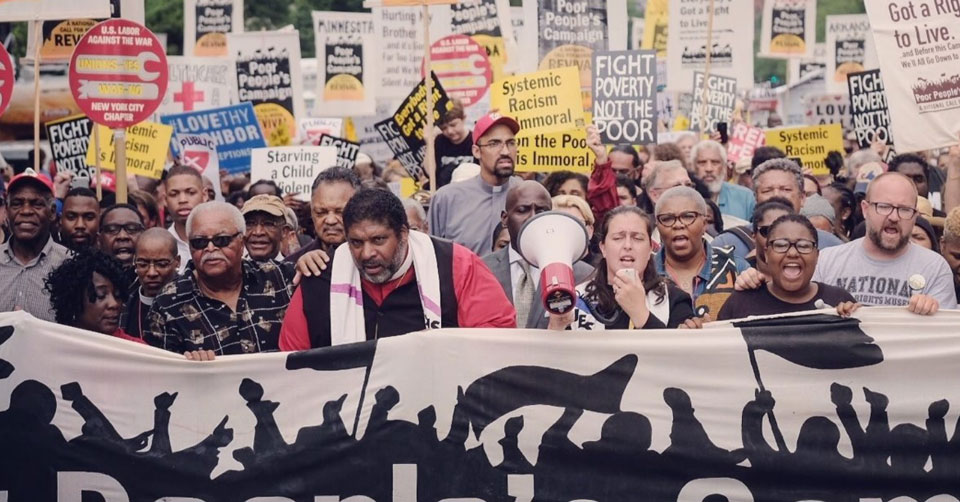Poor People's Campaign takes voting rights drive to state capitals