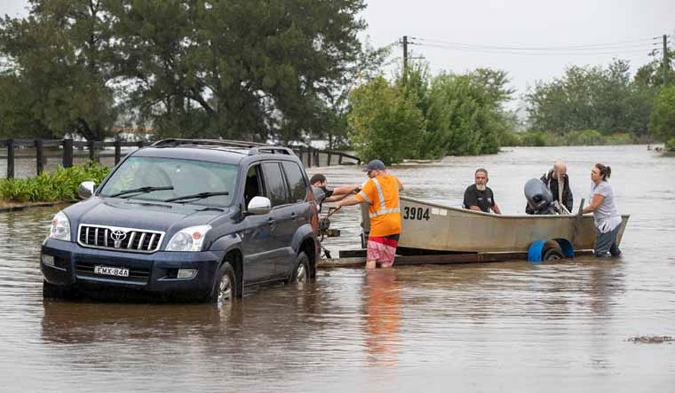 Australia's worst flooding in decades forces mass evacuation