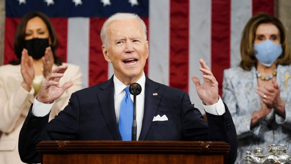 Biden agenda pushes jobs, families, equality, wage hikes, and unions