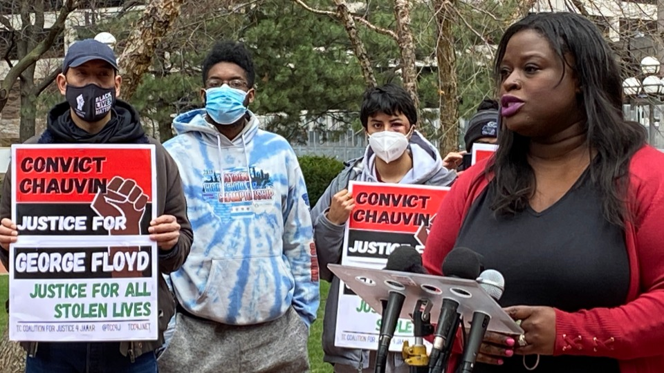 Minnesota activists demand an end to police tactics used against demonstrators