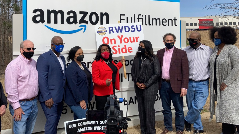 Retail Workers Union loses in Amazon Bessemer vote count