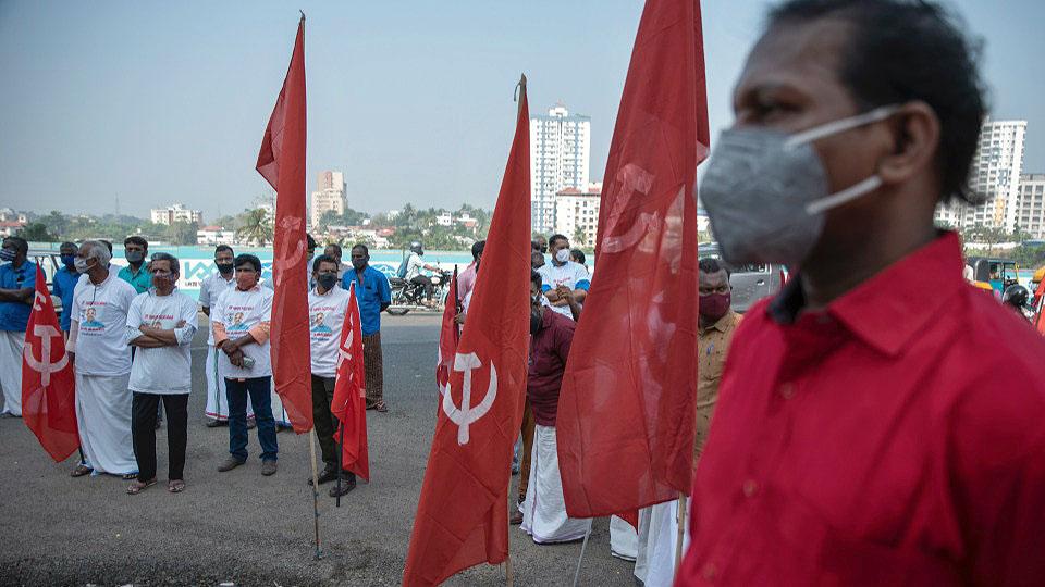 Protests demanding vaccines sweep pandemic-ravaged India