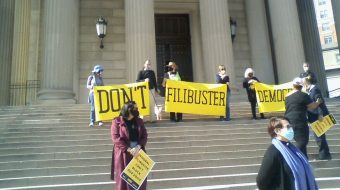 Poor People's Campaign to senators: 'Don't filibuster democracy'