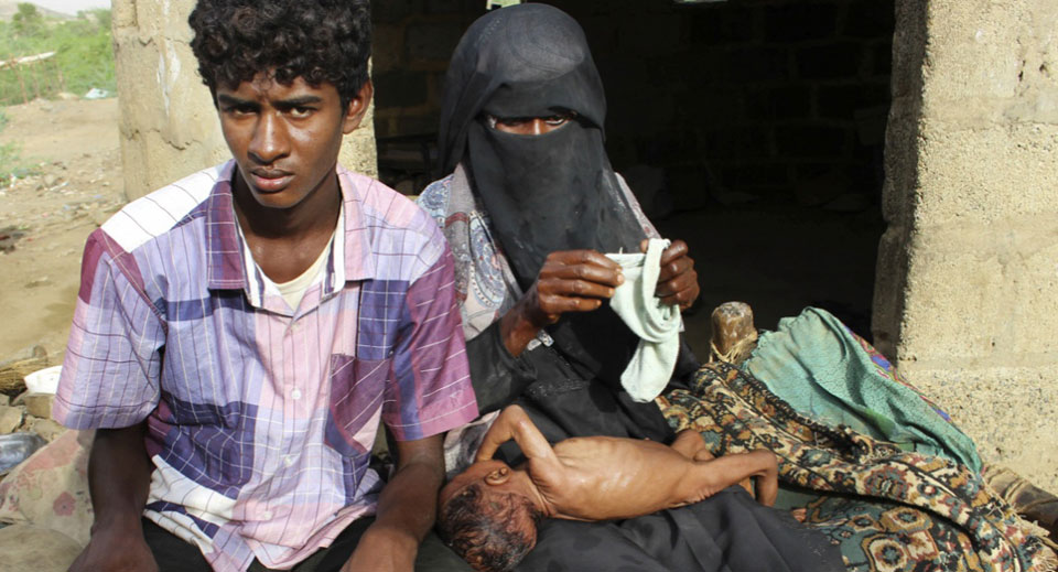 Hunger strikers demand end to U.S. support for deadly blockade on Yemen