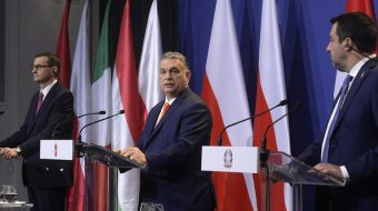 Political center crumbles as Orban, Morawiecki, and Salvini launch reactionary international
