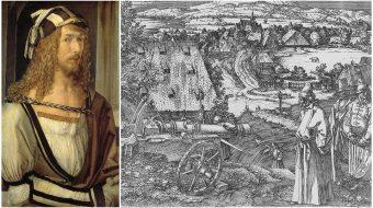 Artist Albrecht Dürer, born 1471, champion of the peasant class
