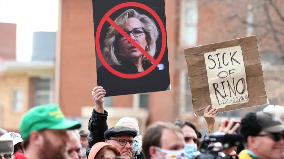Trump faction purges Cheney; 'Big Lie' politics ricochet on GOP establishment