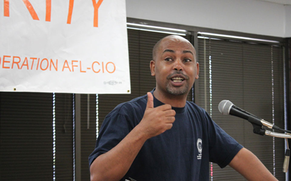 AFL-CIO's VP Tefere Gebre: Filibuster slams workers, refugees, people of color