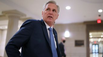 In cowardly move, GOP Leader McCarthy tries to sink Jan. 6 commission