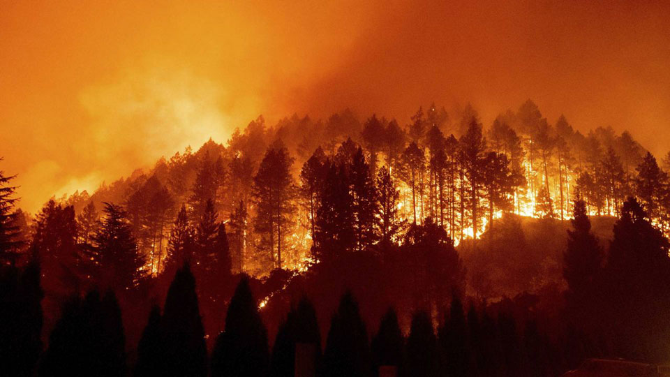 Climate-fueled drought endangers American West ahead of wildfire season