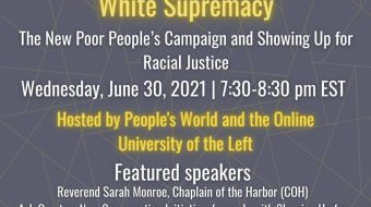 Webinar event: Struggles on the Ground Against White Supremacy