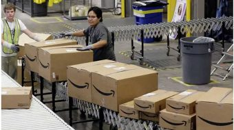 Teamsters convention votes to organize Amazon