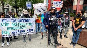 Chicago rallies for community control, 'first step in abolishing police terror'