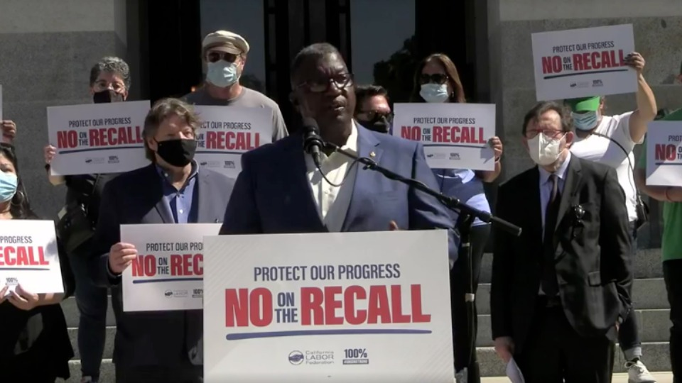 California labor maps plan to stop the Newsom recall