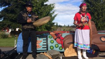 Lummi totem pole heads for nation's capital with appeal: Find missing women