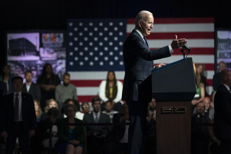 Biden links Tulsa massacre to today's racist voting rights repression