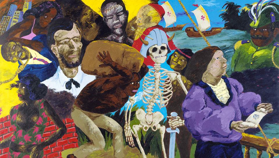 The Colescott Chronicles Part 2: Expanding Black representation, critiquing consumerism and colonialism
