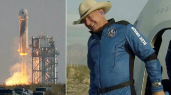 Climate change report: Jeff Bezos & the new wild west show