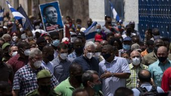 Cuban leader warns of U.S.-backed opportunists seeking to destabilize country