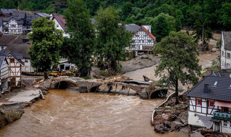 La crisis climática mundial causada por el cambio climático causa estragos