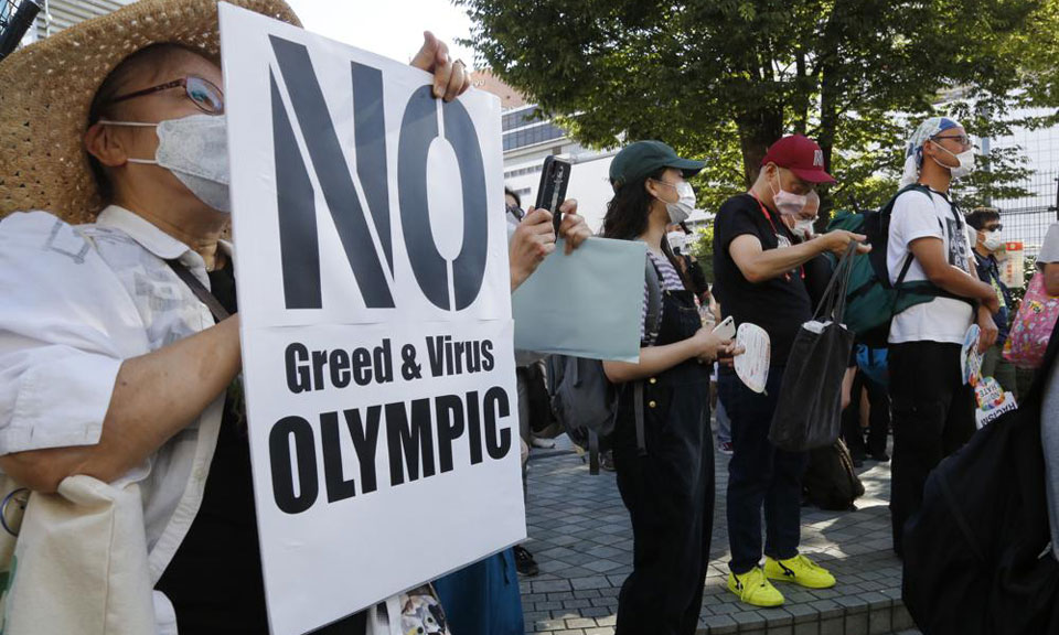 With Tokyo Olympics five days away, COVID makes things surreal
