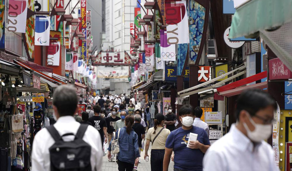 Race for gold continues in Tokyo as the pandemic worsens
