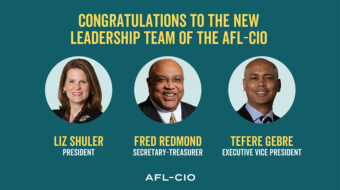 AFL-CIO Executive Council elects Shuler, Redmond to fed's top two jobs