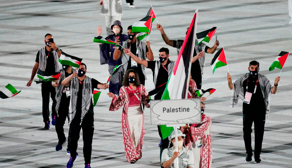 On Palestine, solidarity, and the Tokyo Olympics