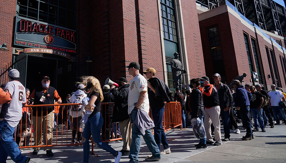 Why no COVID vaccine requirements for S.F. Giants fans?