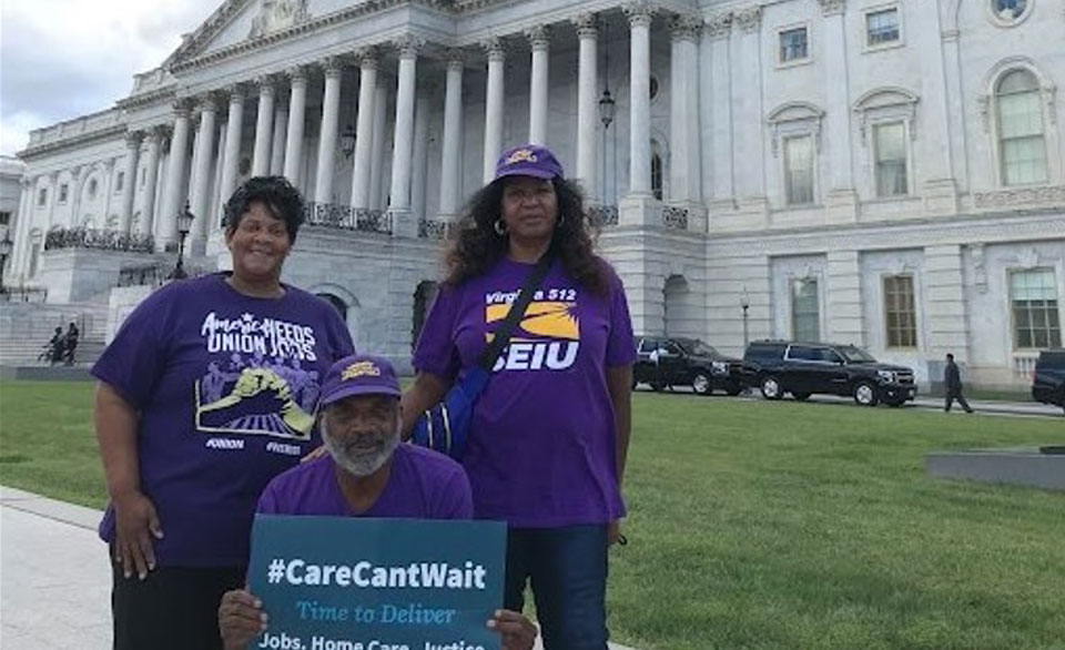 Workers tell prominent Dems of need for home care dollars