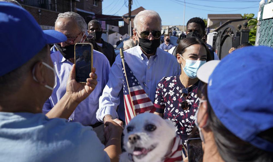 Biden, Dems advocate Civilian Climate Corps in echo of New Deal