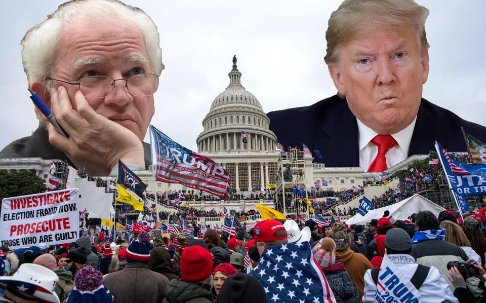 Memo proves real Trump coup was underway Jan. 6